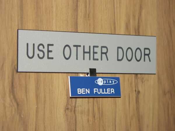 Use Other Door
